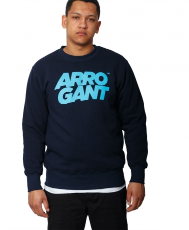 CREW ARROGANT TM NAVY BLUE