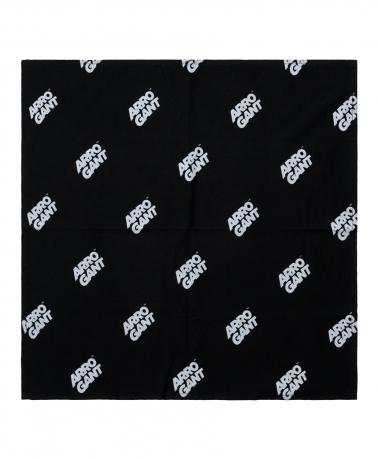 STREET SCARF ARROGANT MARKING BLACK