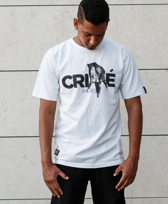 TEE CRIME PARIS WHITE