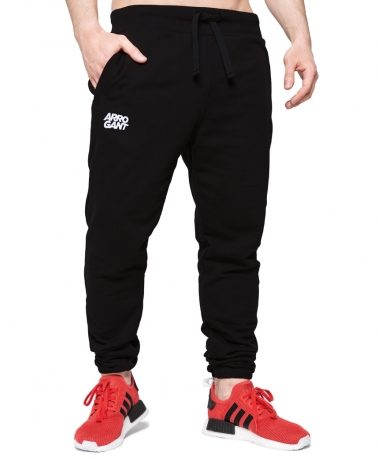 Sweatpants Loop Arrogant TM Black White