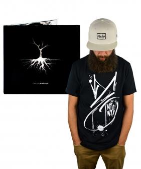 Pakiet T-shirt Ententa Black plus płyta Ententa - Kuriozum