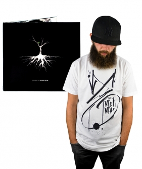 Pakiet T-shirt Ententa White plus płyta Ententa - Kuriozum