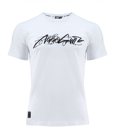 TEE BARBED WHITE