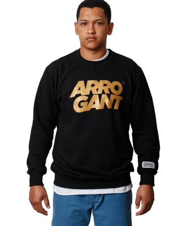 CREW LOOP ARROGANT TM BLACK GOLD