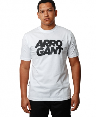 TEE ARROGANT TM WHITE BLACK