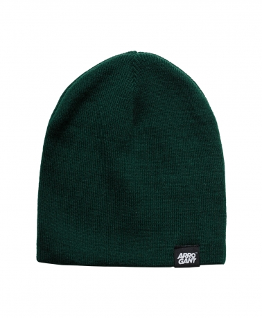 BEANIE BASIC BOTTLE GREEN