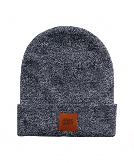 BEANIE STEEL LEATHER CAMEL