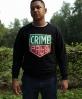 CREW LOOP CRIME PAYS BLACK