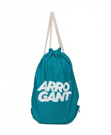 ARROGANT COTTON GYMSACK BLUE WHITE